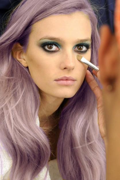 lavendar hair